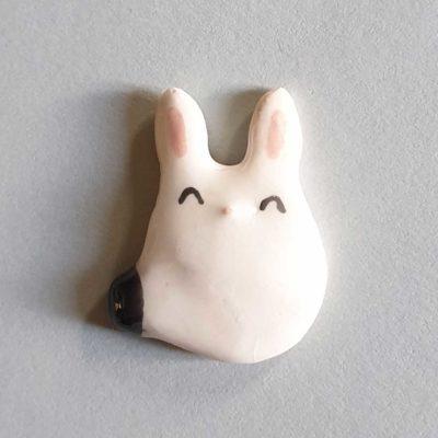 Broche ou aimant lapin