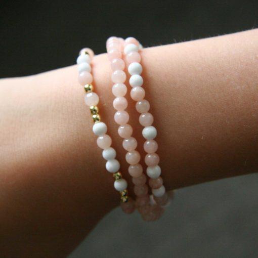 Assortiment de bracelets en jade - Kit créatif DIY