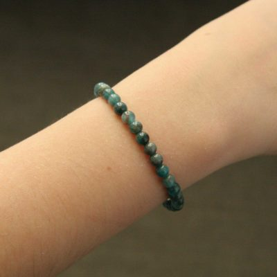 Bracelet simple apatite