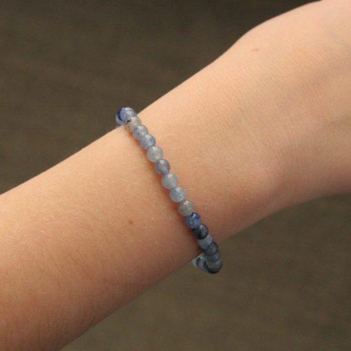 Bracelet simple aventurine