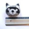 Suspension raton-laveur en feutrine - kit créatif DIY