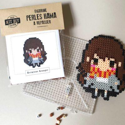 Figurine Hermione en perles Hama - kit créatif DIY